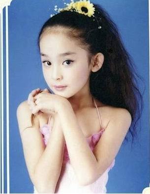 女星的童年照,杨幂可爱,刘亦菲气质,娜扎精-第10张图片