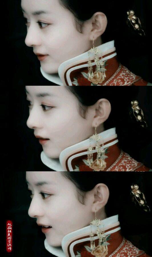 赵丽颖鼻子,热巴鼻子,刘亦菲鼻子,都敌不过她的完美鼻子-第1张图片
