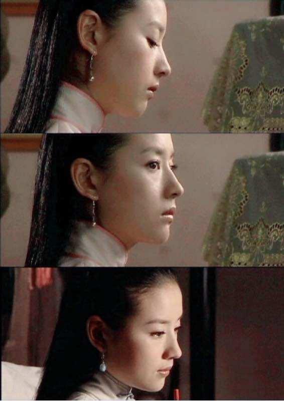 赵丽颖鼻子,热巴鼻子,刘亦菲鼻子,都敌不过她的完美鼻子-第10张图片