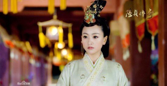 郑爽刘诗诗舒畅毛晓彤刘亦菲朱茵 那些在古装剧中惊艳出场的女子-第6张图片