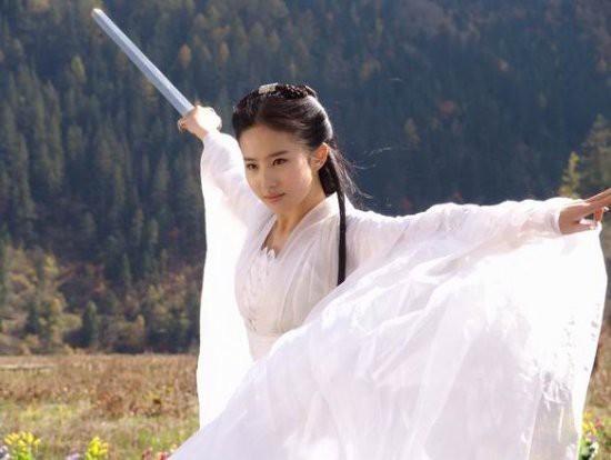郑爽刘诗诗舒畅毛晓彤刘亦菲朱茵 那些在古装剧中惊艳出场的女子-第11张图片