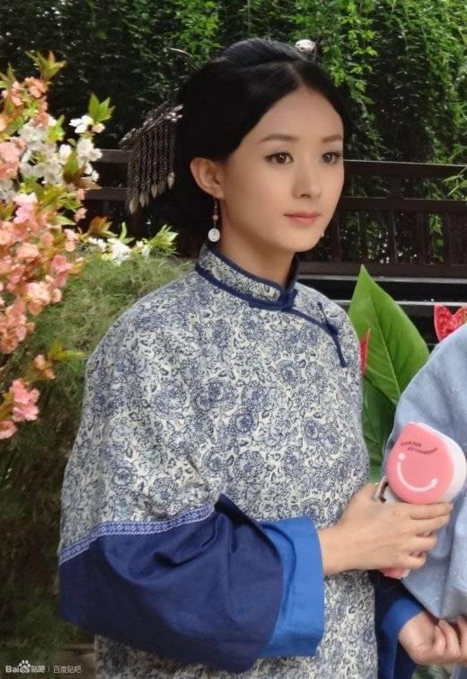 郑爽刘诗诗舒畅毛晓彤刘亦菲朱茵 那些在古装剧中惊艳出场的女子-第30张图片