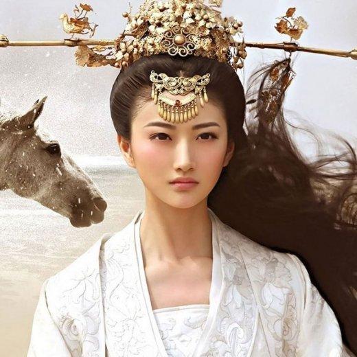 郑爽刘诗诗舒畅毛晓彤刘亦菲朱茵 那些在古装剧中惊艳出场的女子-第36张图片