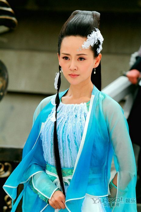 郑爽刘诗诗舒畅毛晓彤刘亦菲朱茵 那些在古装剧中惊艳出场的女子-第37张图片