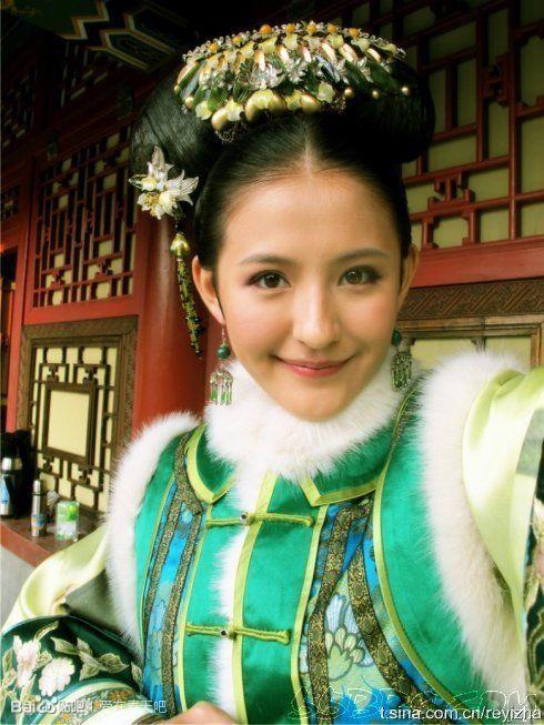 郑爽刘诗诗舒畅毛晓彤刘亦菲朱茵 那些在古装剧中惊艳出场的女子-第41张图片