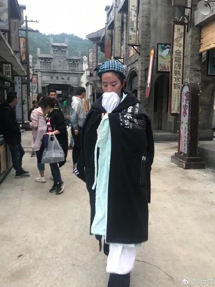 刘亦菲 水戏-第5张图片