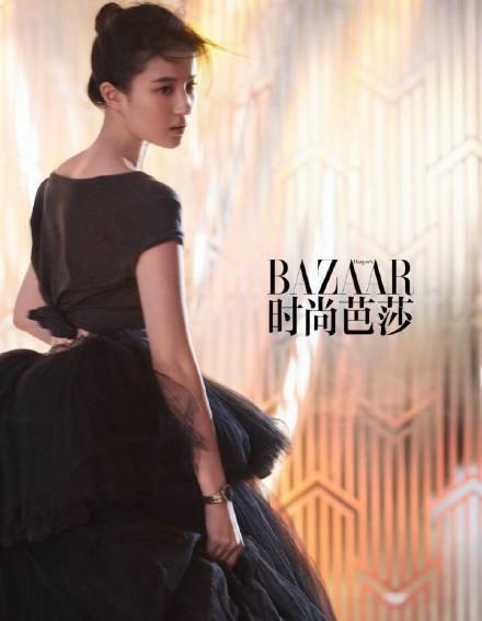 """刘亦菲登《时尚芭莎》,网友:""""胖了:-第1张图片"""