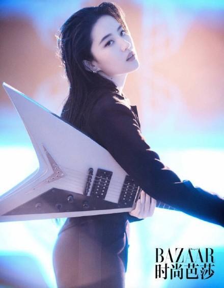 """刘亦菲登《时尚芭莎》,网友:""""胖了:-第6张图片"""