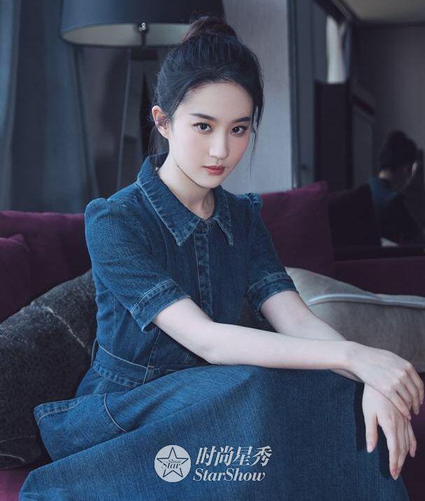 刘亦菲:那白衣飘飘,风中齐舞的仙子-第4张图片
