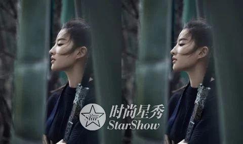 刘亦菲:那白衣飘飘,风中齐舞的仙子-第5张图片