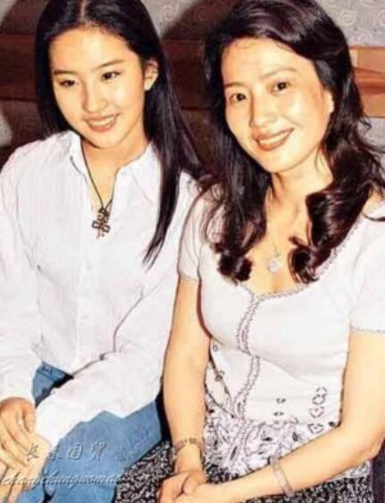 刘亦菲妈妈素颜照曝光 皮肤白皙气质出众-第1张图片