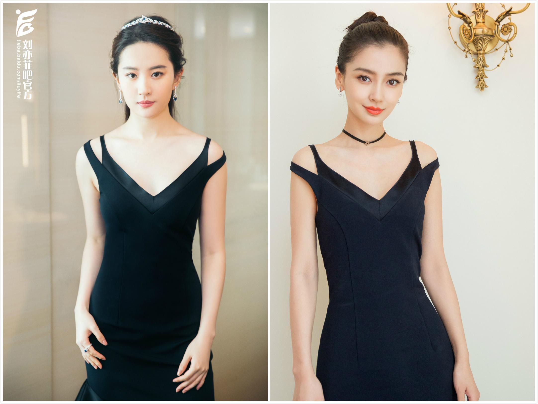 刘亦菲、baby撞衫5条Dior裙子!baby赢在骨架,刘亦菲只能靠肤色了-第5张图片