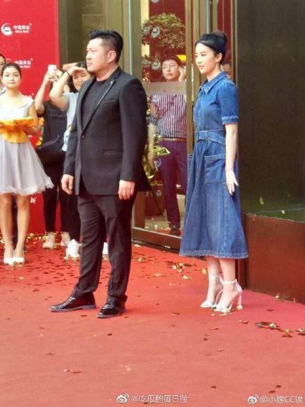 刘亦菲出席活动 粉丝:神仙姐姐终于出关了-第3张图片