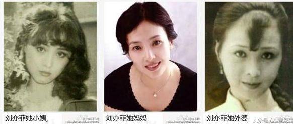 刘亦菲的妈妈听说比她本人还美,厉害了!-第2张图片