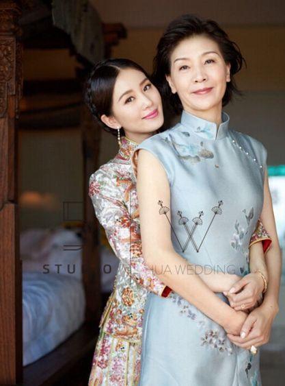 刘亦菲的妈妈听说比她本人还美,厉害了!-第4张图片