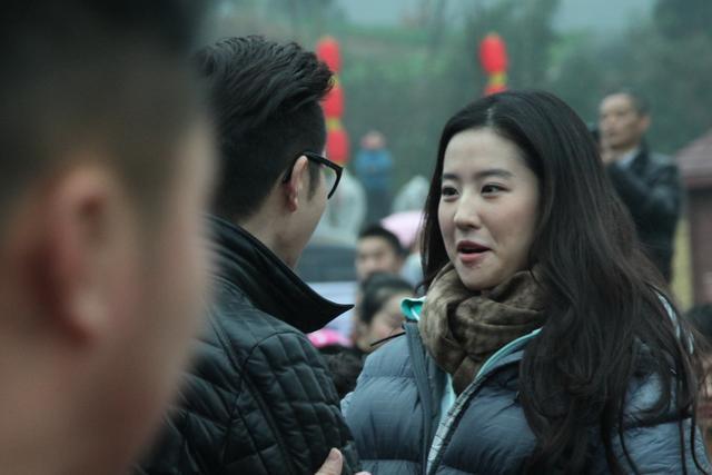 刘亦菲在南充素颜也很美丽,引粉丝追捧-第6张图片