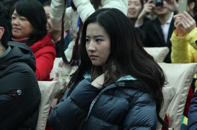 刘亦菲在南充素颜也很美丽,引粉丝追捧-第10张图片