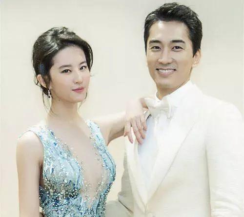刘亦菲和宋承宪分手却把粉丝高兴坏了,难怪刘亦菲之前说呵呵哒-第1张图片