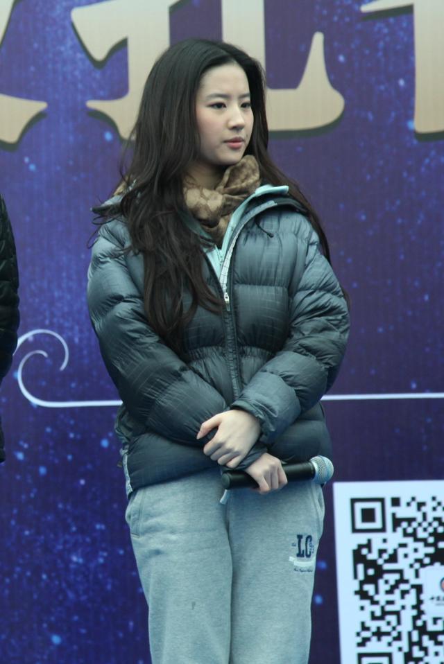 刘亦菲在南充素颜也很美丽,引粉丝追捧-第16张图片