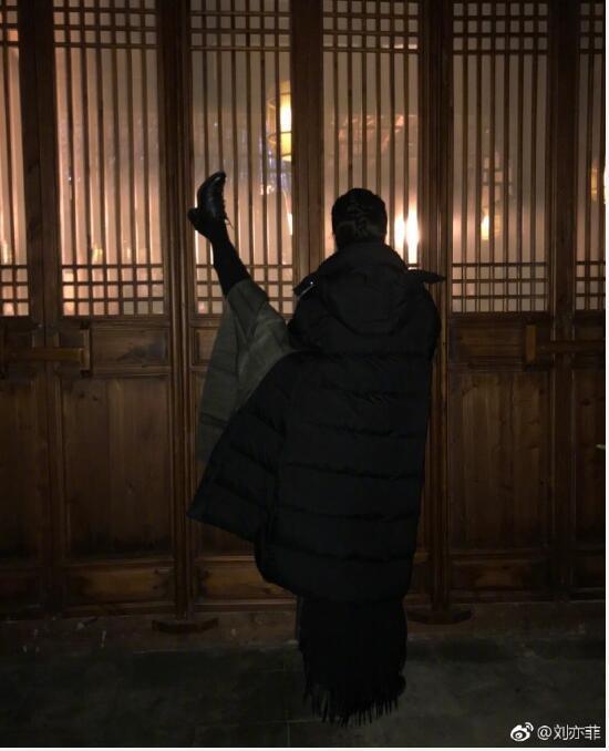 刘亦菲突然瘦腿, 网友:瘦了不止5斤吧!-第8张图片