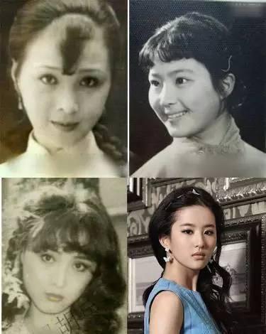 刘亦菲竟是全家最丑,如果都进入娱乐圈就没刘亦菲什么事了!-第6张图片