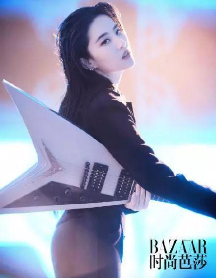 刘亦菲登时尚杂志封面-第6张图片
