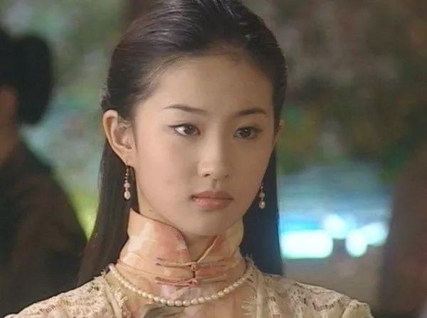 穿旗袍,看明星之:刘亦菲-第2张图片