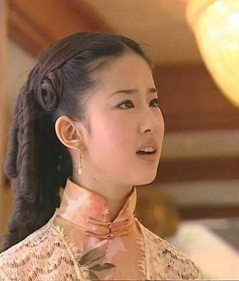 穿旗袍,看明星之:刘亦菲-第5张图片
