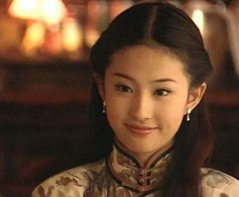 穿旗袍,看明星之:刘亦菲-第6张图片
