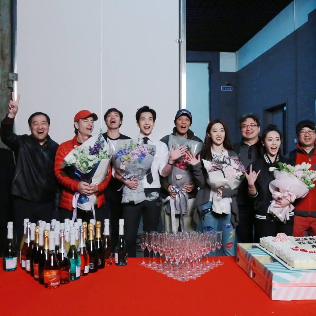 三生三世杀青图 《刘亦菲》[2016.3.21]