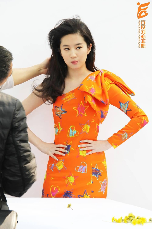 [时装l'officiel]拍摄花絮图  《刘亦菲》[2016.2.12]