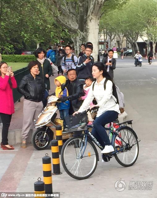 上海交大拍摄《原来你还在这里》(2015.04.17)