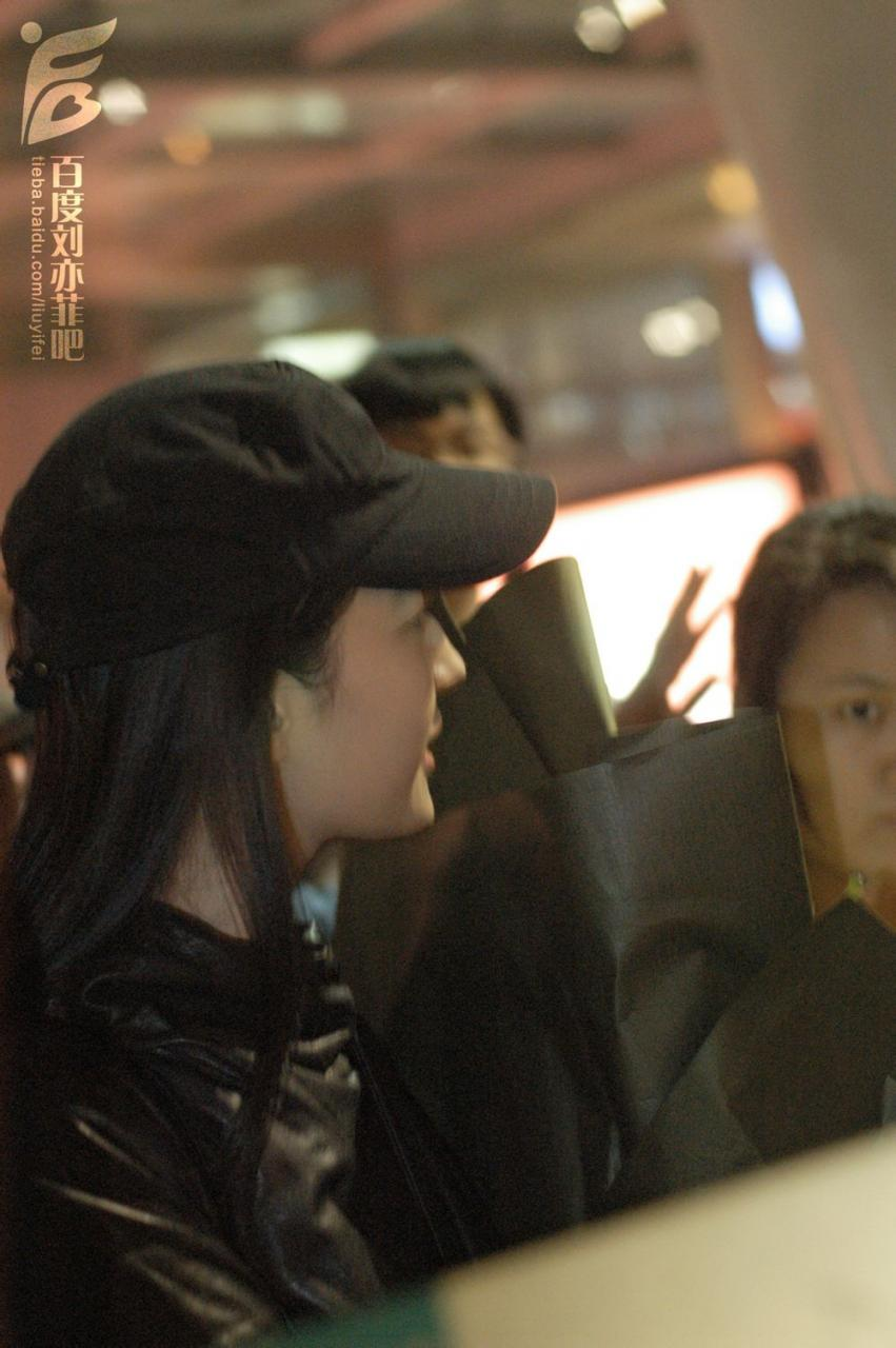 长沙黄花机场接机  《刘亦菲》[2014.10.27]