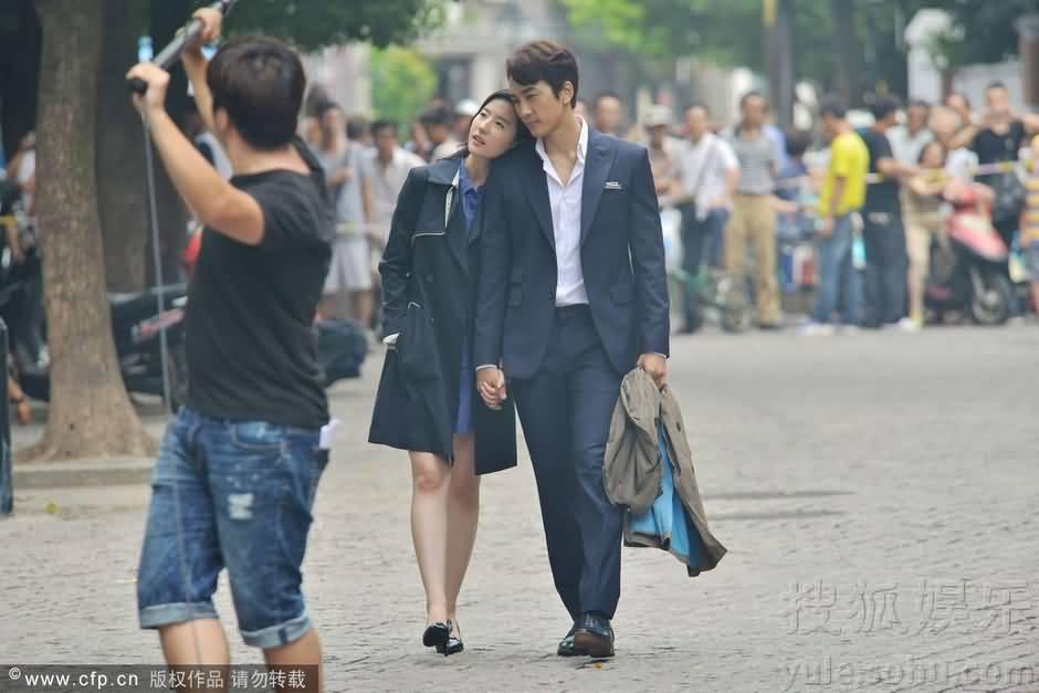 第三種愛情拍攝花絮新聞圖(2014.8.27)