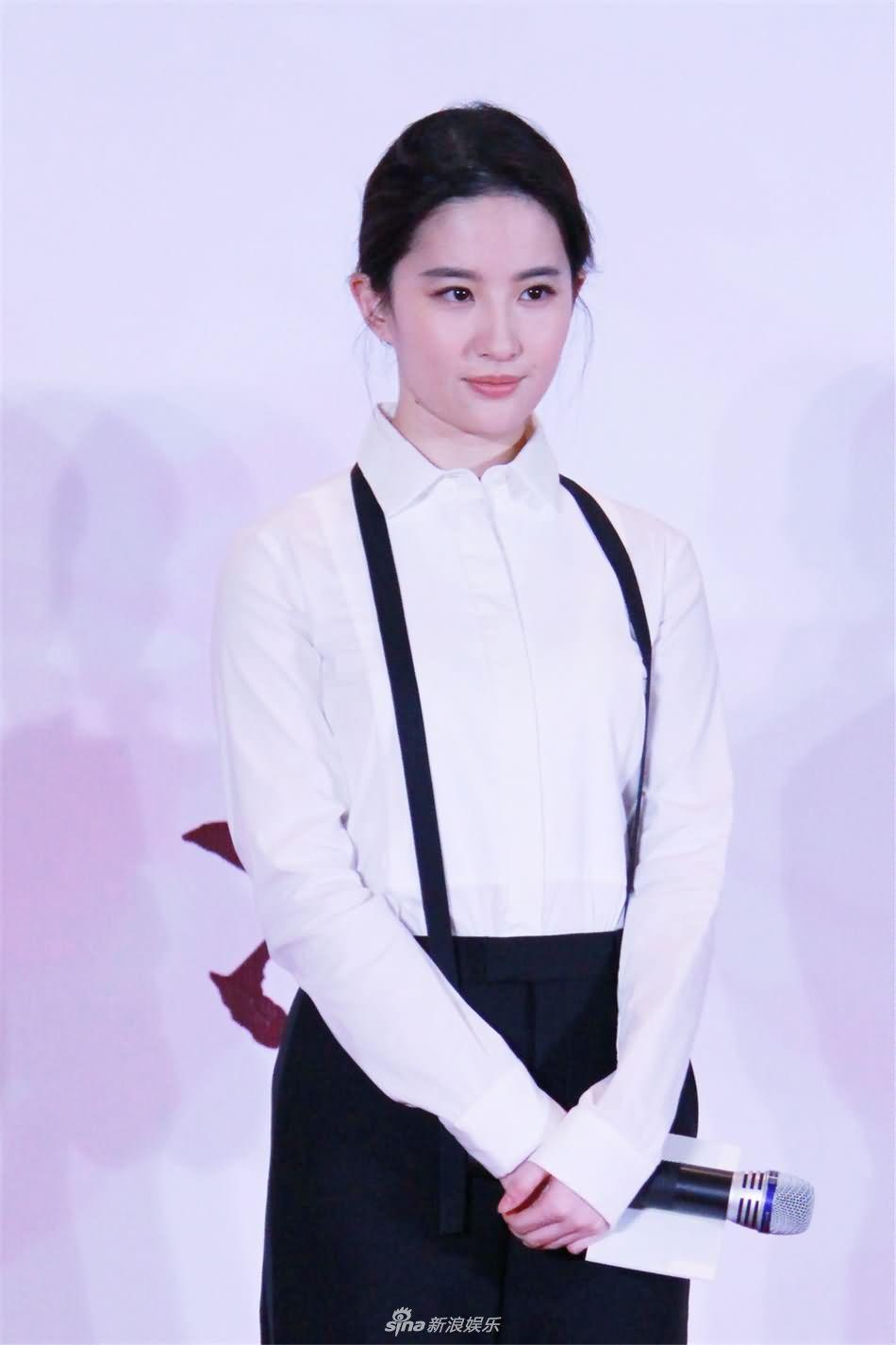 """《三生三世》上海发布会 默契""""情侣黑""""合体现身"""