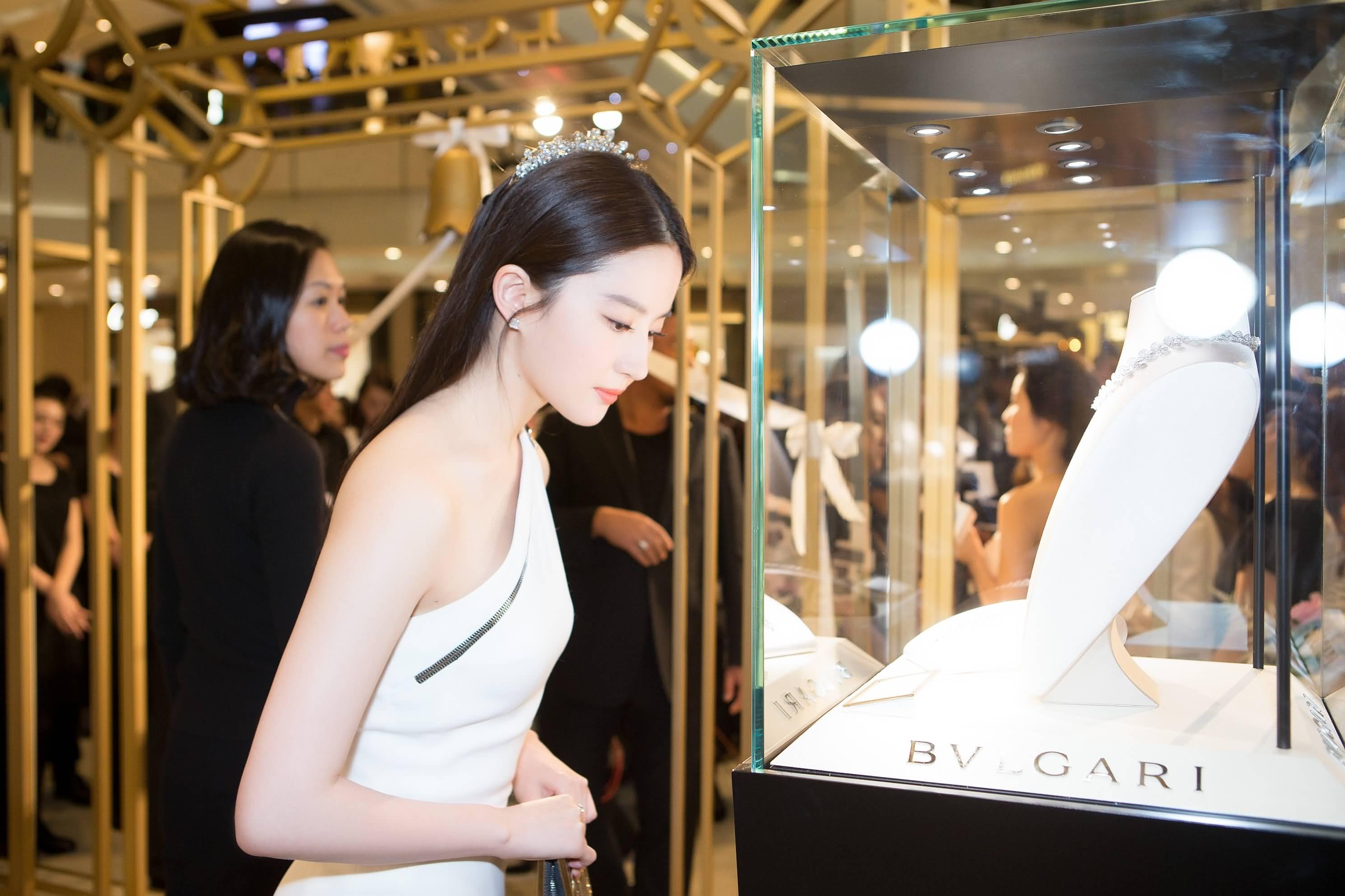 优雅现身出席[宝格丽]上海新品活动现场高清美图