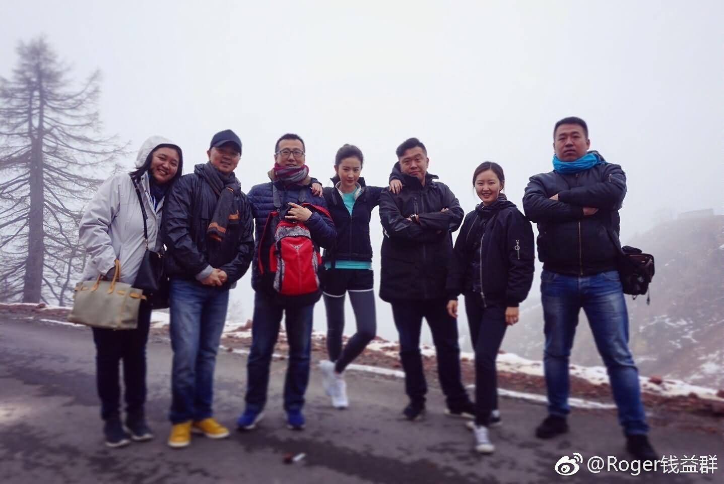 云南香格里拉高海拔拍摄《温碧泉》新一季广告