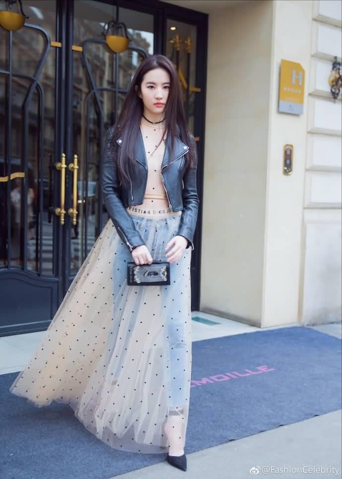 优雅与天仙攻气质均不谋而合,双面Dior,双面亦菲