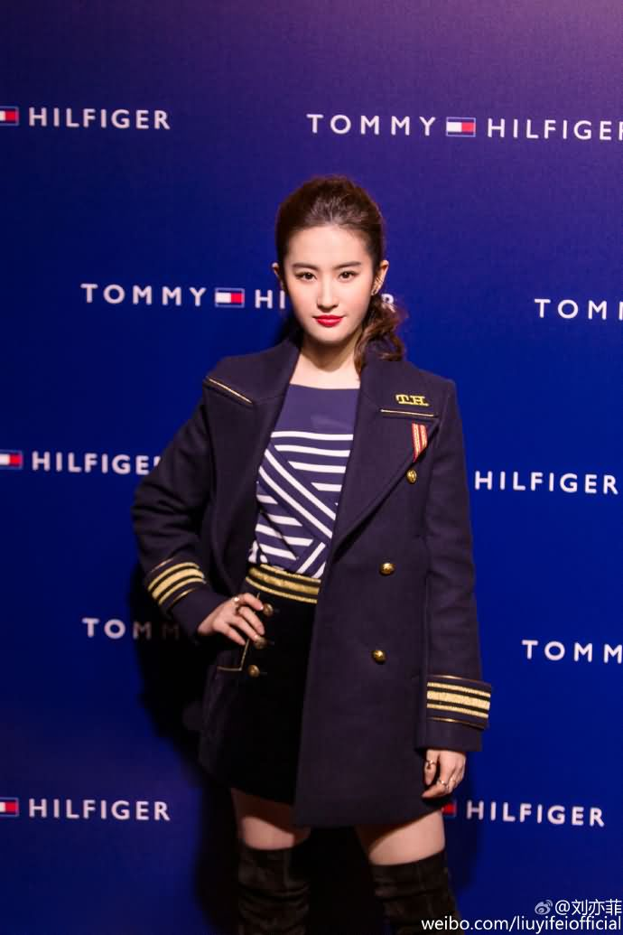 TommyHilfiger系列的上海发布会
