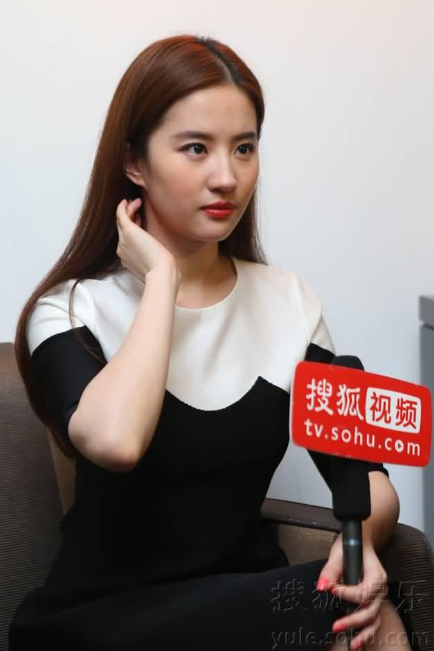 搜狐娱乐戛纳报道组专访  《刘亦菲》[2016.5.12]