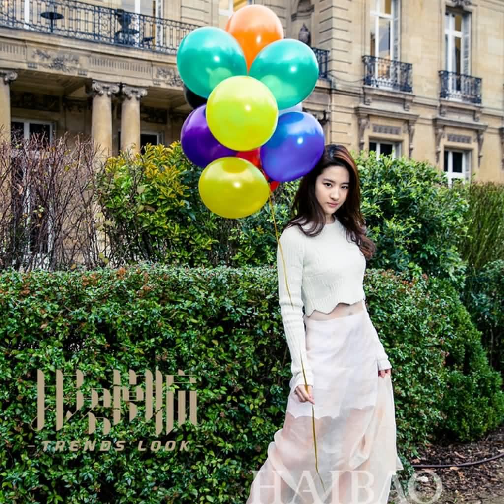 海报时尚:巴黎行新图  《刘亦菲》[2016.3.16]
