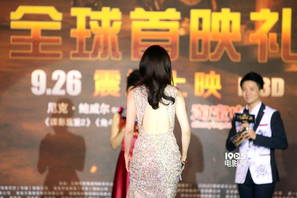 《绝命逃亡》现场照北京首映(2014.9.22)