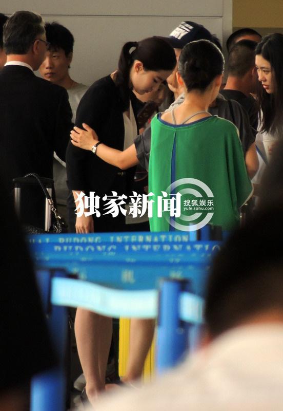 上海浦東機場拍攝第三種愛情(2014.09.06)