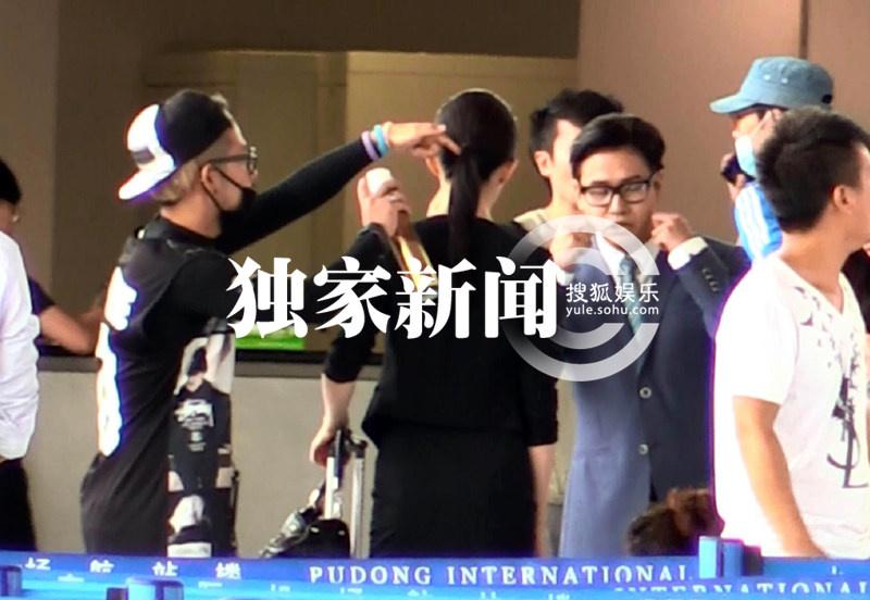 上海浦东机场拍摄第三种爱情(2014.09.06)