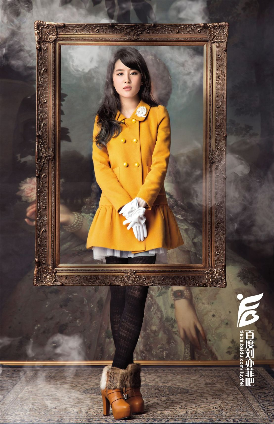 卓多姿2013秋装广告大片 《刘亦菲》[2013.7.24]