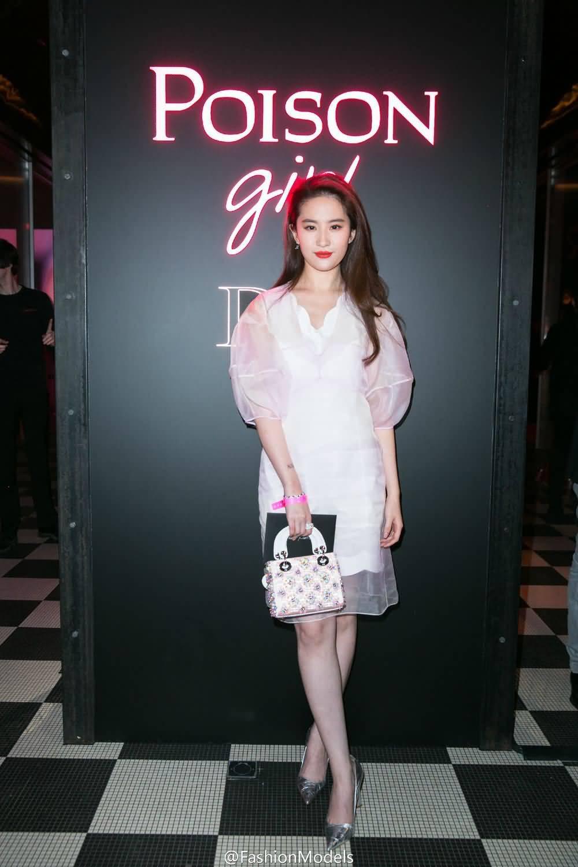 Dior Poison Girl香水发布晚宴  《刘亦菲》[2016.1.25]