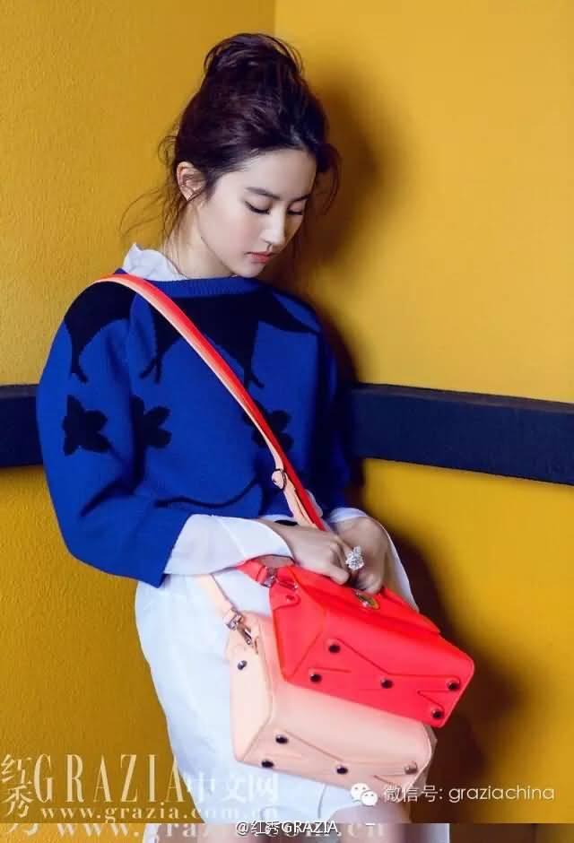 红秀拍的Dior秀内场图  《刘亦菲》[2016.1.25]