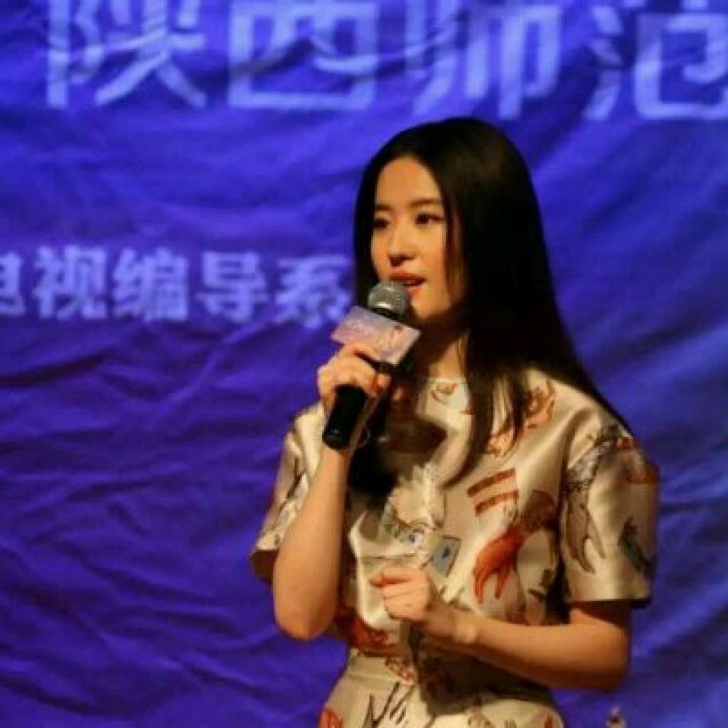 陕西师范大学宣传第三种爱情  《刘亦菲》[2015.9.20]