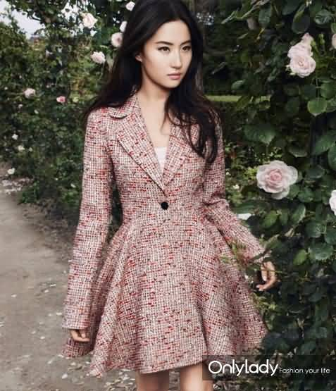 Dior这么爱刘亦菲,只是因为颜值吗?(形象回顾)