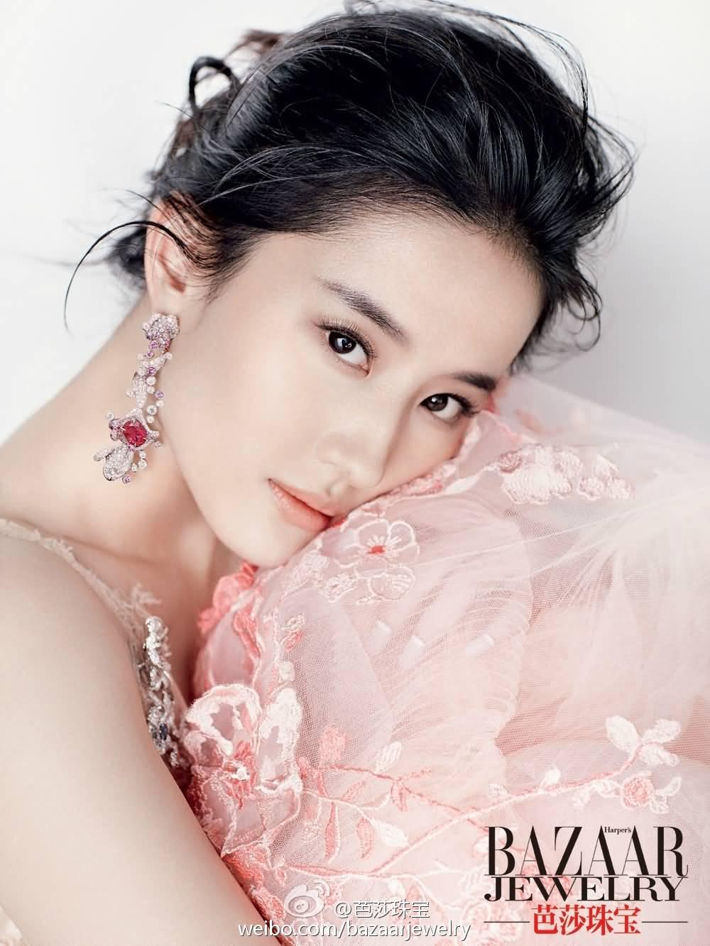 芭莎珠宝2015年12月刊 《刘亦菲》[2014.12.21]